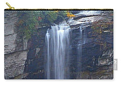 Raven Cliff Falls #2 Carry-all Pouch by Alan Lenk