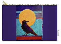 Raven Moon Carry-all Pouch by Nancy Jolley