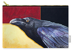Raven Of The Tomorrow Wings Carry-all Pouch