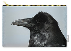 Raven Profile Carry-all Pouch