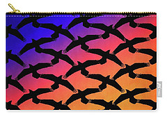 Raven Sky Carry-all Pouch by Timothy Bulone
