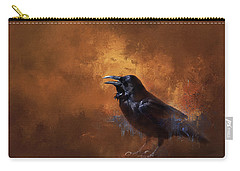 Raven Carry-all Pouch by Theresa Tahara