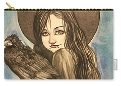 Raven Witch Carry-all Pouch