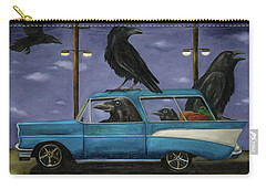 Ravens' Ride Carry-all Pouch