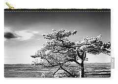 Ravens Roost Ir Tree Carry-all Pouch by Kevin Blackburn