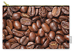 Raw Coffee Beans Background Carry-all Pouch