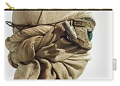 Ray From The Force Awakens Carry-all Pouch by Micah May