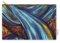Carry-all Pouch featuring the painting Ray Of Hope 3 by Harsh Malik