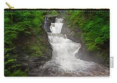 Carry-all Pouch featuring the photograph Raymondskill Falls by Susan Candelario