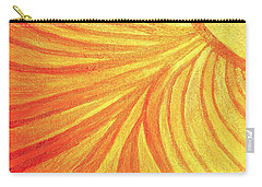 Rays Of Healing Light Carry-all Pouch by Rachel Hannah