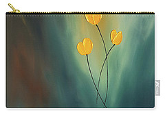 Carry-all Pouch featuring the painting Rays Of Hope by Carmen Guedez
