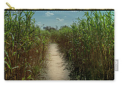 Rays Of Hope Carry-all Pouch by Karen Wiles