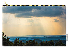 Carry-all Pouch featuring the photograph Rays Of Nature by Parker Cunningham
