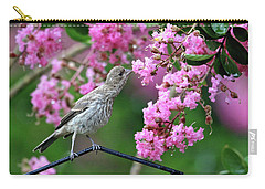 Carry-all Pouch featuring the photograph Reach For It by Trina Ansel