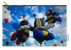 Hot Air Balloon Cheerleaders Carry-all Pouch