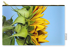 Reaching Sunflower Carry-all Pouch