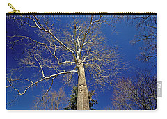 Carry-all Pouch featuring the photograph Reaching For The Sky by Suzanne Stout