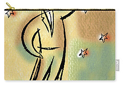 Carry-all Pouch featuring the painting Reaching For The Star by Leon Zernitsky