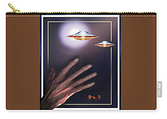 Carry-all Pouch featuring the photograph Reaching  Out  In  Wane. . .  by Hartmut Jager