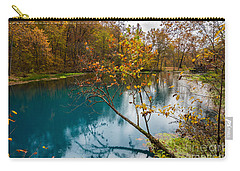 Reaching Out Carry-all Pouch by Jennifer White