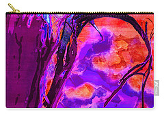 Reaching To Purple Clouds Carry-all Pouch