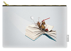 Reading Is An Adventure Carry-all Pouch
