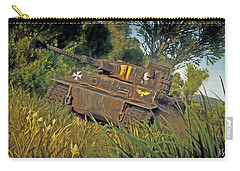 Ready And Waiting Carry-all Pouch