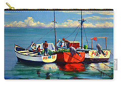 Ready For The Sea, Peru Impression Carry-all Pouch