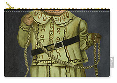 Real Cowgirl 2 Carry-all Pouch by Leah Saulnier The Painting Maniac