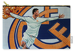 Real Madrid Painting Carry-all Pouch by Paul Meijering