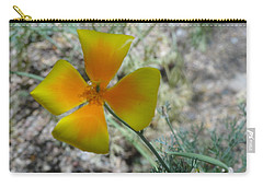 One Gold Flower Living Life In The Desert Carry-all Pouch