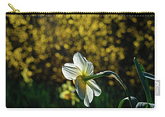 Rear View Daffodil Carry-all Pouch