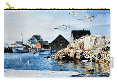 Carry-all Pouch featuring the painting Reason To Believe by Hanne Lore Koehler