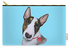 Carry-all Pouch featuring the painting Rebel by Jindra Noewi