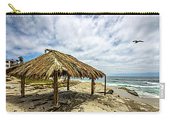 Rebirth  At Windandsea Carry-all Pouch by Peter Tellone