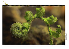Carry-all Pouch featuring the photograph Rebirth by Mike Eingle