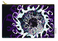 Receive And Believe In Black Carry-all Pouch