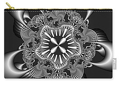 Carry-all Pouch featuring the digital art Recomizing by Andrew Kotlinski