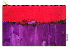 Red Above Purple Carry-all Pouch