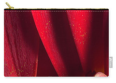 Golden Pollen Red Chrysanthemum Carry-all Pouch