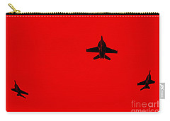 Red Alert Carry-all Pouch