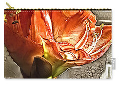 Red Amarylls Carry-all Pouch