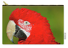 Carry-all Pouch featuring the photograph Red And Green by Tony Beck
