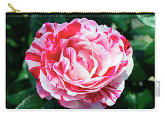 Red And Pink Floral Candy Rose Garden 490 Carry-all Pouch