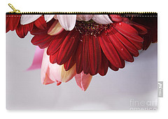 Red And Pink Gerberas And Tulips Carry-all Pouch