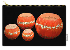 Red And White Bowls Carry-all Pouch