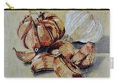 Red And White Garlic Carry-all Pouch