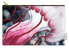 Red And White Jellyfish  Carry-all Pouch