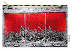 Red And White Window # 1 Carry-all Pouch