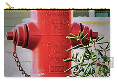 Red And Yellow Hydrant Carry-all Pouch